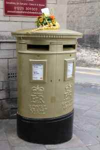 Olympic Gold Medal Mailbox